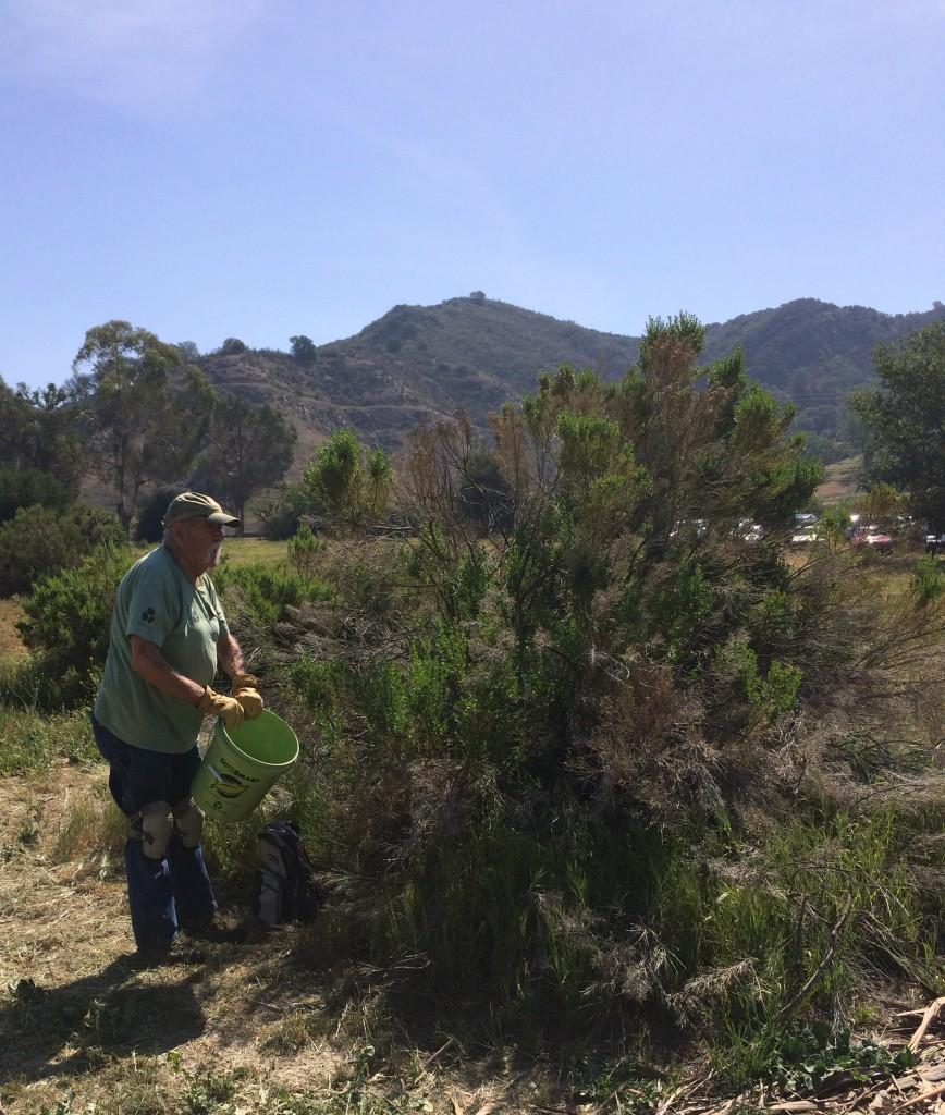 Joe Vargas, a veteran TreePeople Restoration Supervisor