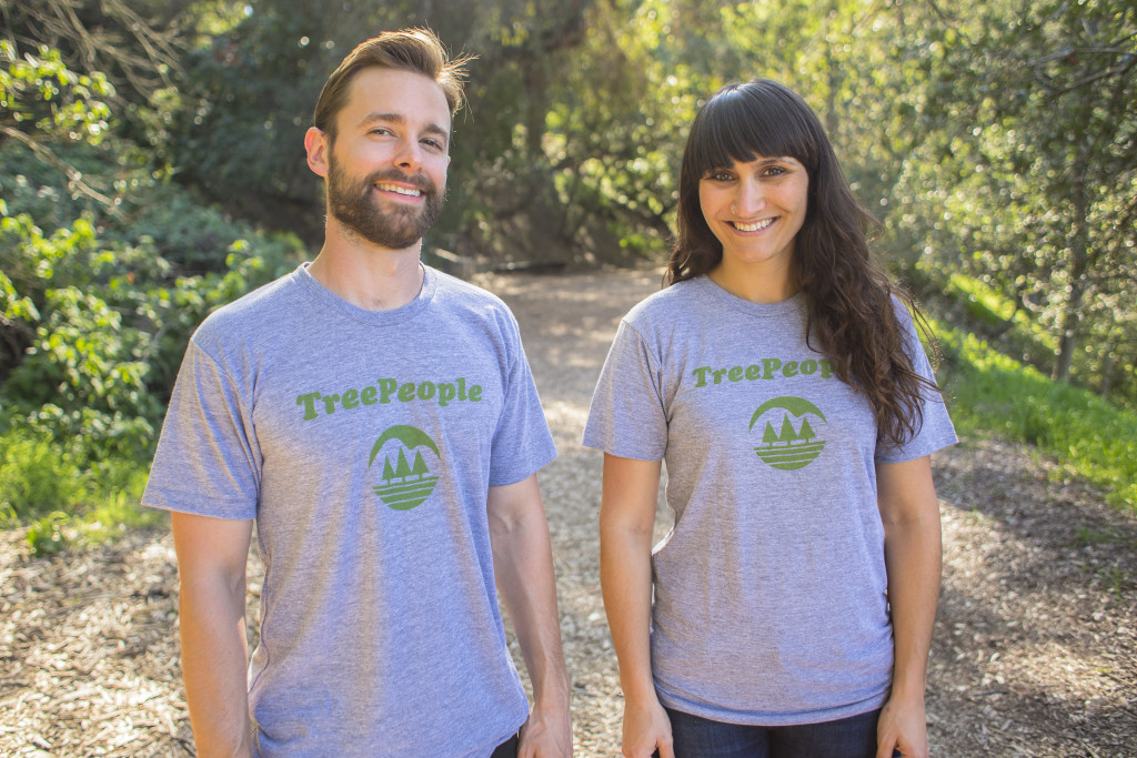 Get a TreePeople throwback shirt as part of our new program!