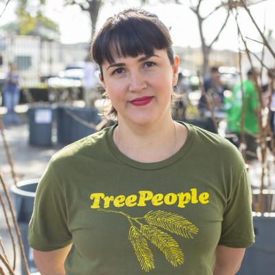 TreePeople Outreach Volunteer, Maya Alarcon