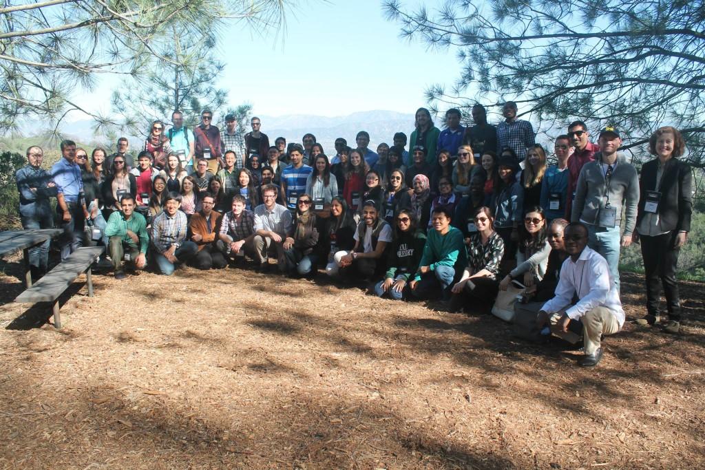 Fullbright Scholars visit TreePeople