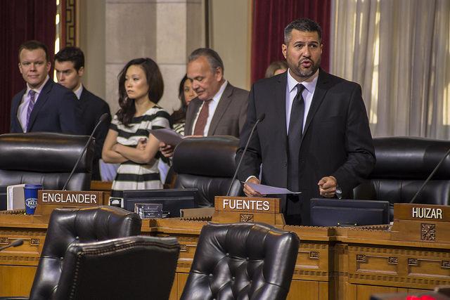 LA Councilmember Felipe Fuentes
