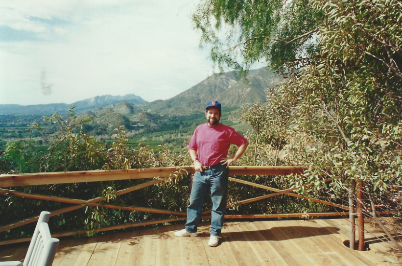 Founder Andy Lipkis on David's tree-filled ranch in Ojai.