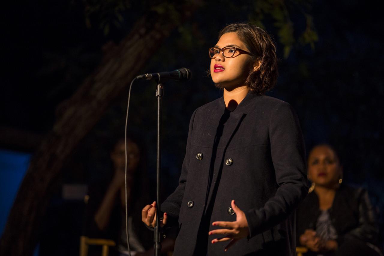 16 year old spoken word artist, Belissa Escobedo