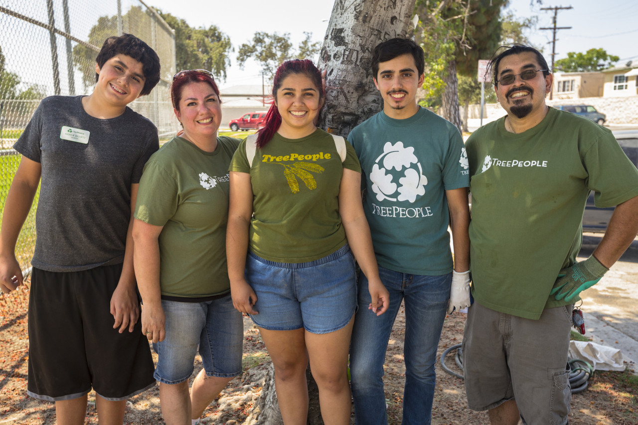The Basurto Family, from left to right: Andrew, Cristina, Crystal, Samuel and Ruben