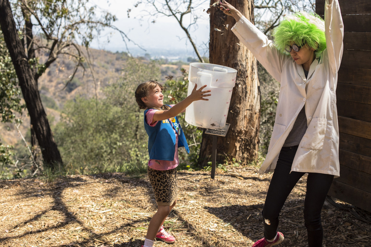 Kayla also worked as an Eco-tour Educator, bringing the magic of nature to life for young Angelenos visiting TreePeople's park
