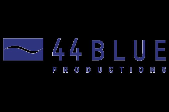 44 Blue Productions Brand Logo