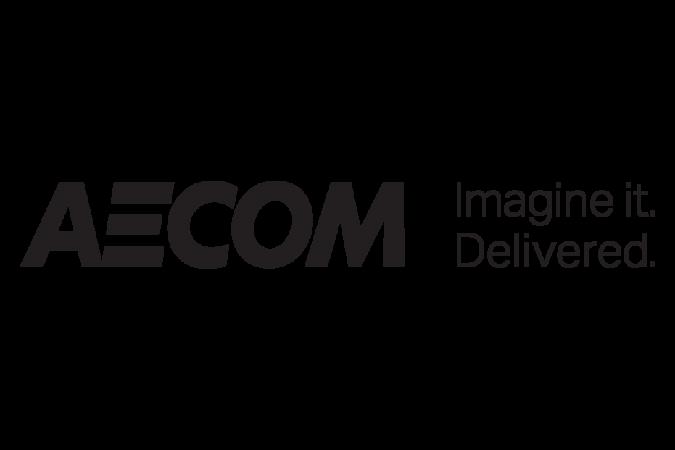 AECOM Imagine it Delivered Brand Logo