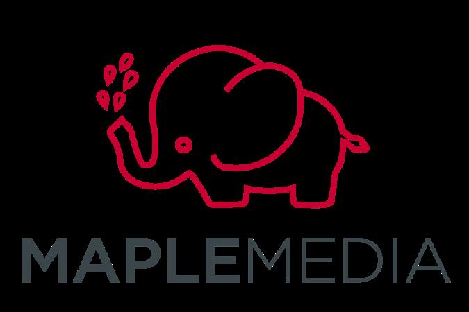 MapleMedia Brand Logo