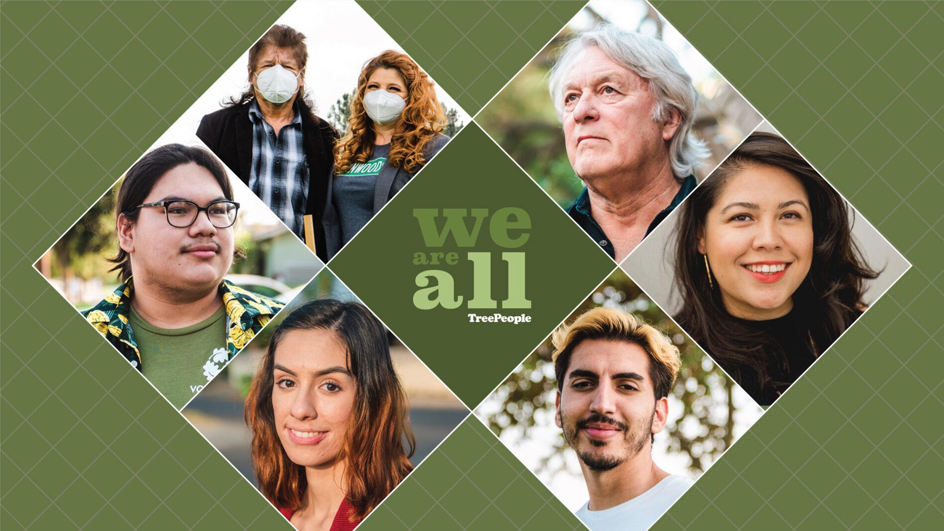 Header Homepage - We Are All TreePeople - February